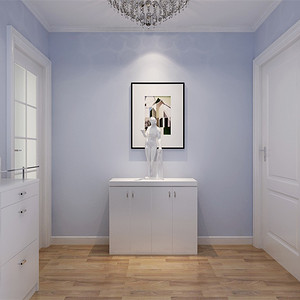 二居室-现代简约-效果图