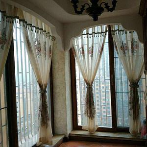 125㎡美式风格阳台实景图