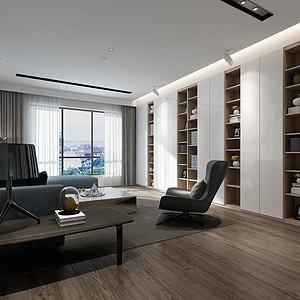 极简风格客厅