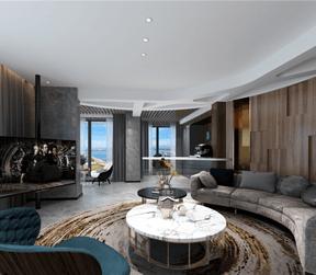 现代风格客厅装修设计效果图