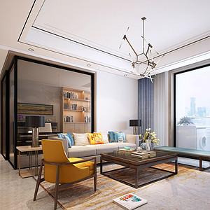 东城鼎峰尚境家装案例-139㎡现代简约风格四房二厅装修效果图