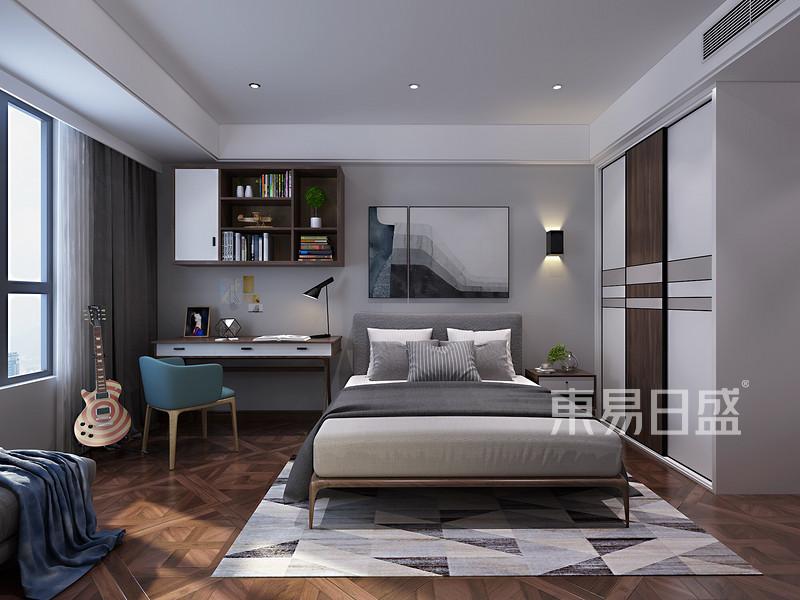 186㎡新中式男孩房装修