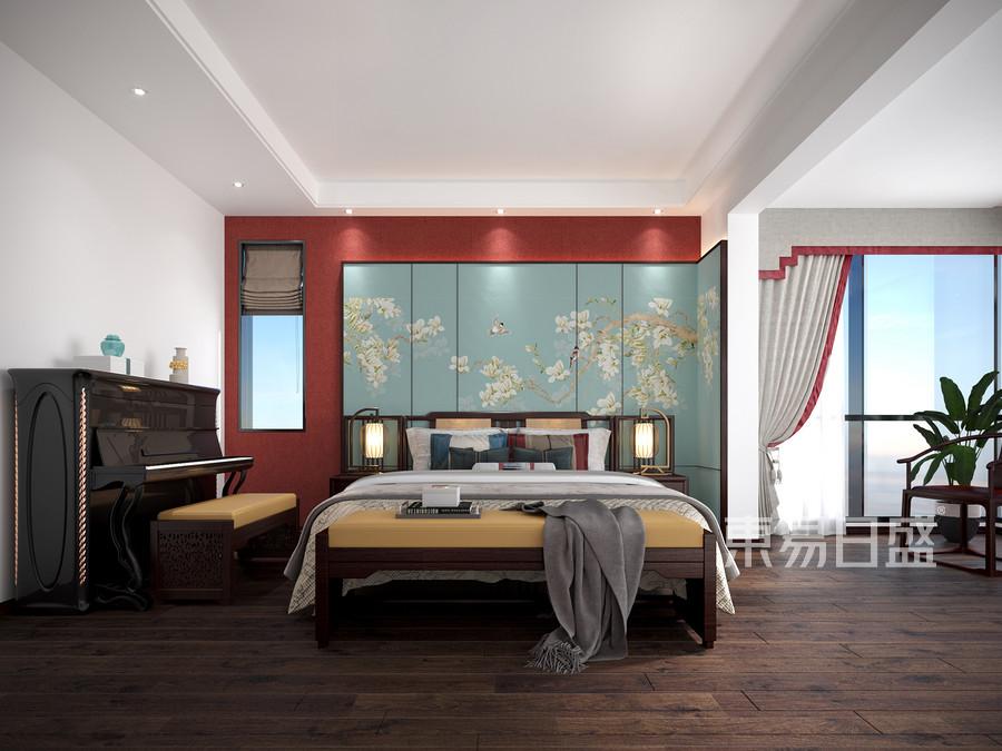 古朴大方的卧室