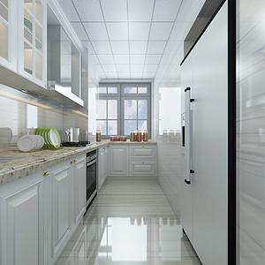 极简风格-厨房-装修效果图