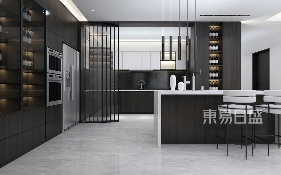 现代国际风格厨房装修设计