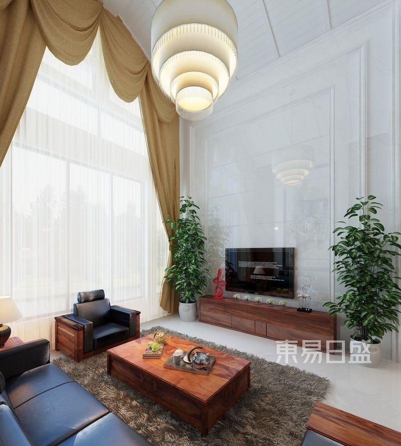 室内f复古装潢-代风格独栋别墅装修效果效果图 装修效果图大全2018图片 1165263