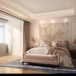 燕西华府 雅致主义 卧室装饰
