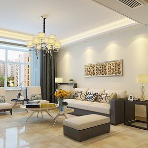 维多利亚二期-三居室-现代简约风格