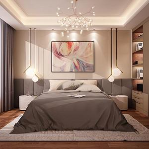 欣欣家园 现代简约 卧室装饰