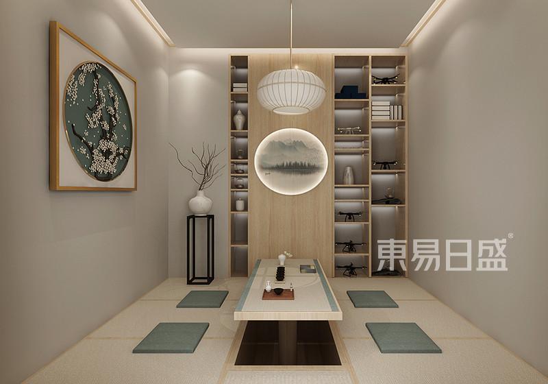 茶室装修效果图