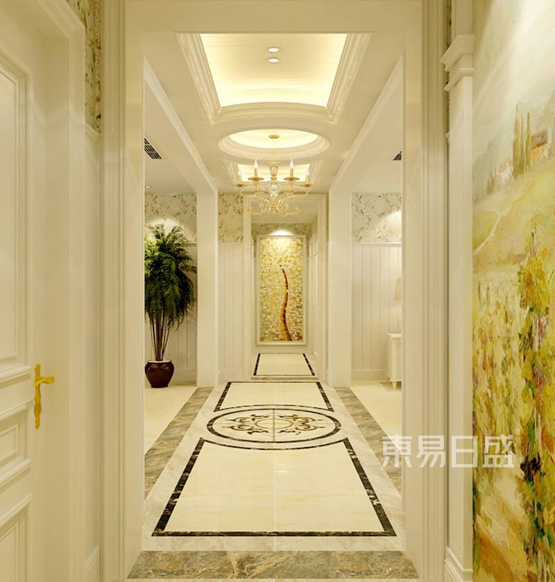 盛邦花园-美式风格-走廊效果