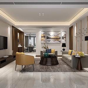 江湾城现代风格182平米