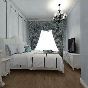 法式-复式-卧室