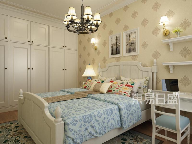 静源居 新美式 卧室装饰