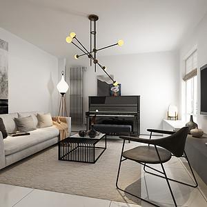 恬心家园-45平米-现代风格