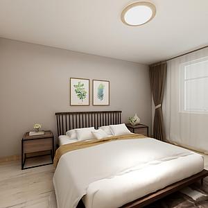 明亮清新的现代简约风格卧室装修