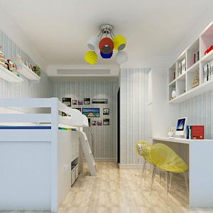 阳光晶典新中式风格儿童房装修效果图