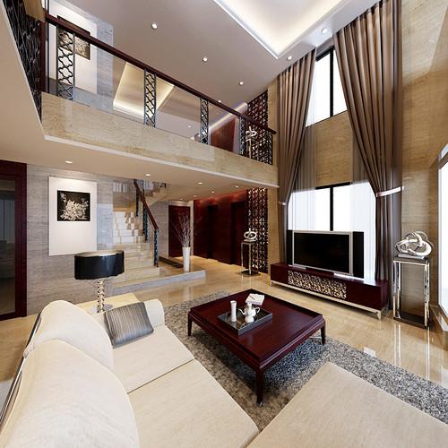 雅居乐·雍逸豪庭 220平米-现代中式