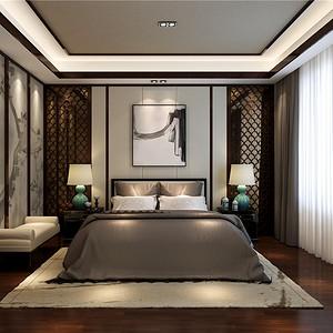 森兰明轩-新中式-140平米-卧室