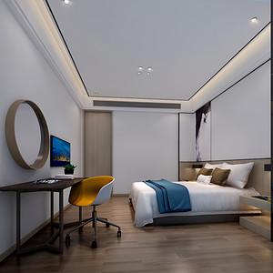 航天晴山月 170平 三室两厅 卧室