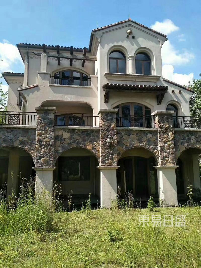 新中式-别墅-庭院