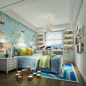 沄沄国际 现代美式 儿童房装饰