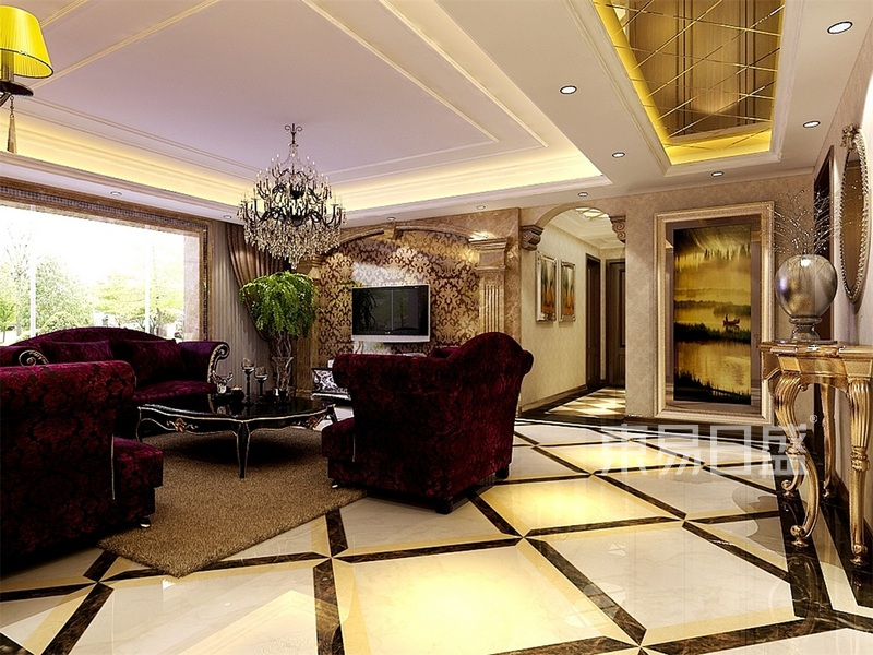 欧式古典-客厅