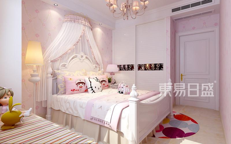 盛邦花园-美式风格-卧室效果
