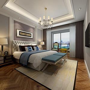 新中式风格主卧室