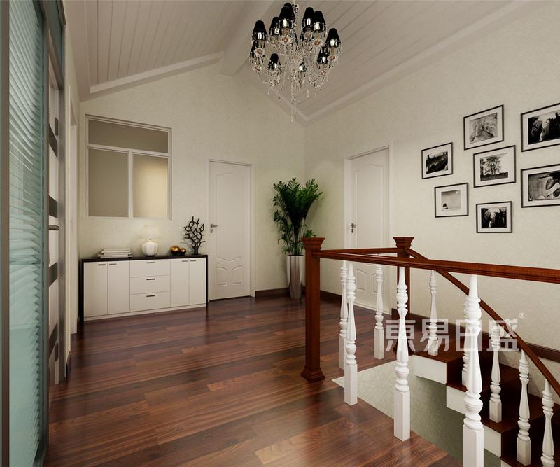 现代前卫 - 红星国际现代风格阁楼楼梯间效果图