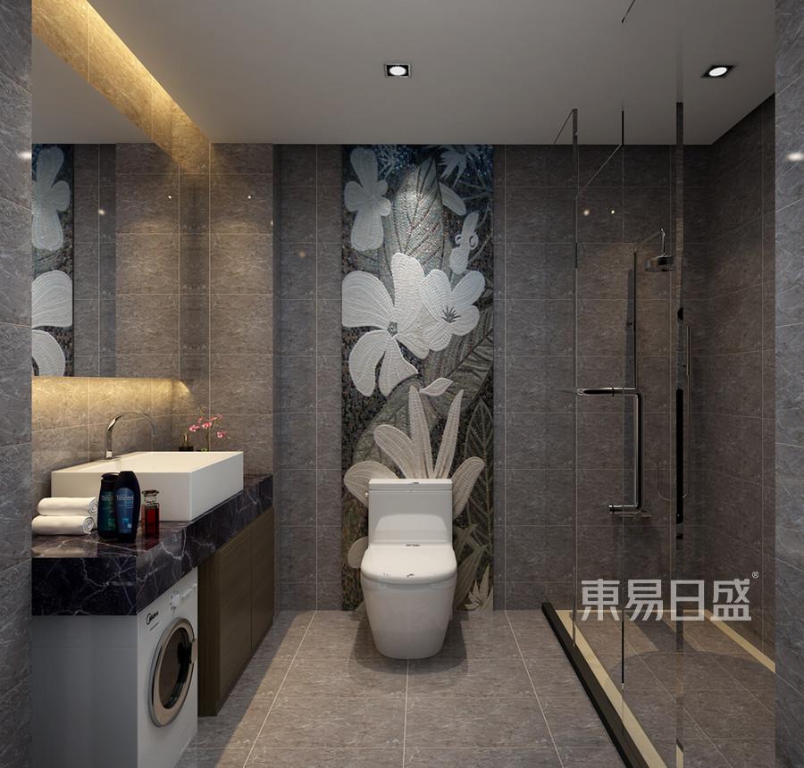 卫生间装修效果图 现代前卫风格装饰