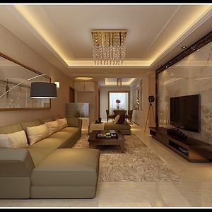 金地西沣公元 现代简约装修效果图 四室二厅两卫 150平米