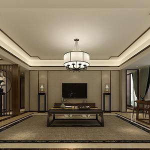中央洋房145平米新中式风格
