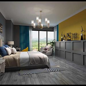 现代简约-平层-卧室