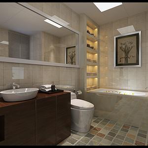 现代简约-平层-卫生间
