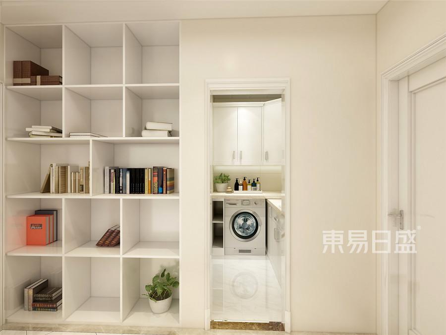 108平金碧园二居室简约美式风格卫生间装修效果图
