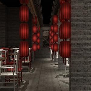 中式-二楼大厅