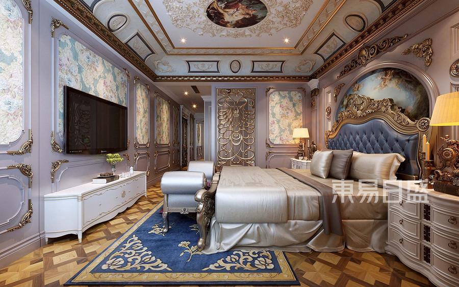 法式新宫廷风格卧室装修设计效果图   分享  收藏  空间  风格 元素