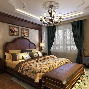 高雅富贵的简欧风格卧室装修