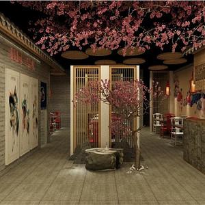 中式-入户门厅