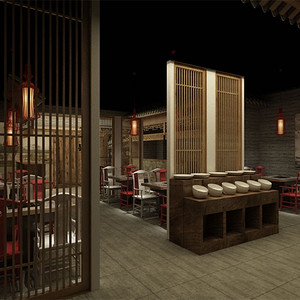 中式-一楼大厅