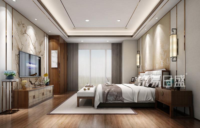 卧室装修效果图片——新中式风格