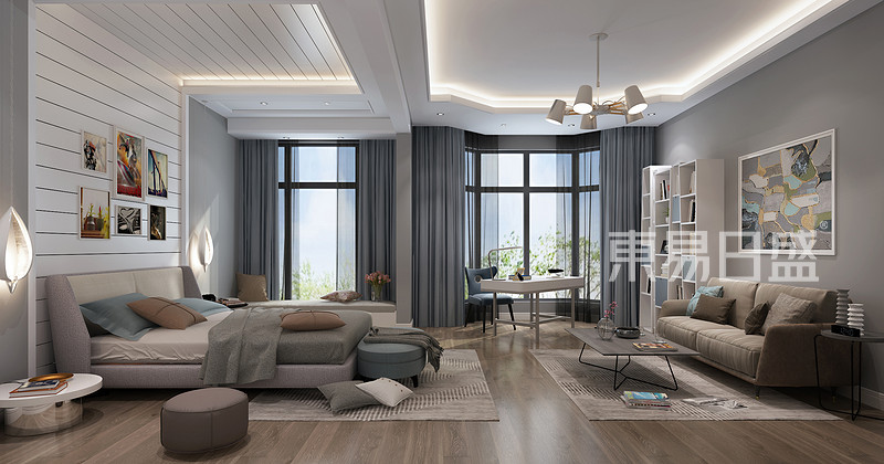 家装现代简约风格卧室