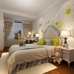 燕南园现代美式风格儿童房装修效果图
