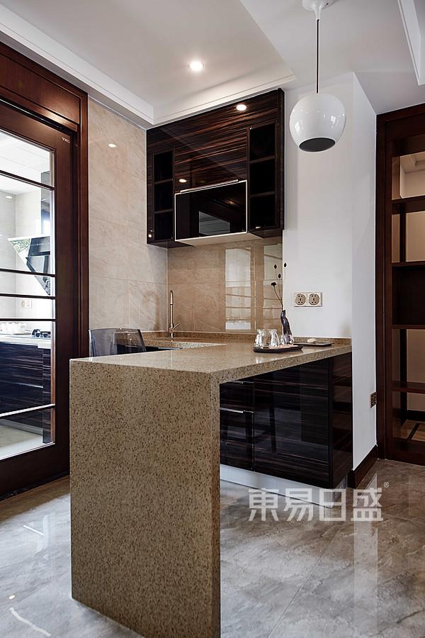新中式厨房装修效果图