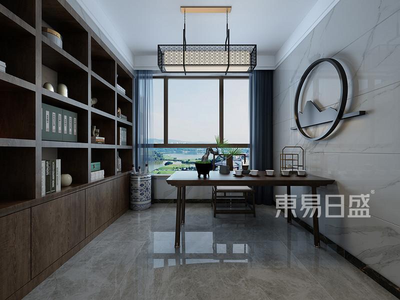 佛山新中式书房装修设计