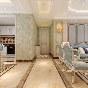 欧式-客厅过厅