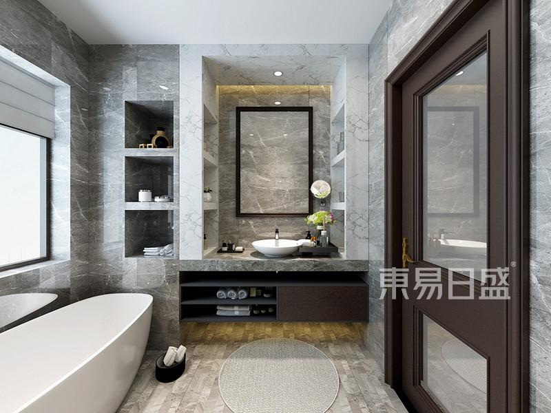 佛山新中式卫生间装修设计