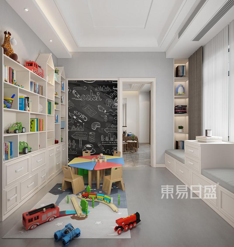 600平别墅儿童活动区装修