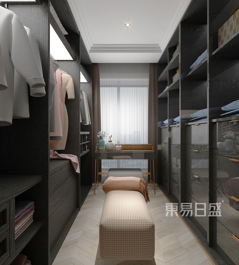 170平唐城壹零壹中式风格衣帽间装修效果图